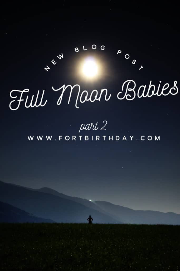Full Moon Babies Pinterest Cover Page Birth of Twins