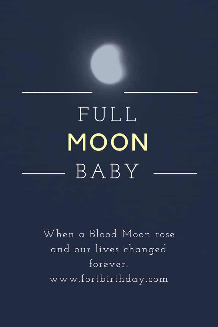 Title page Full Moon Baby www.fortbirthday.com