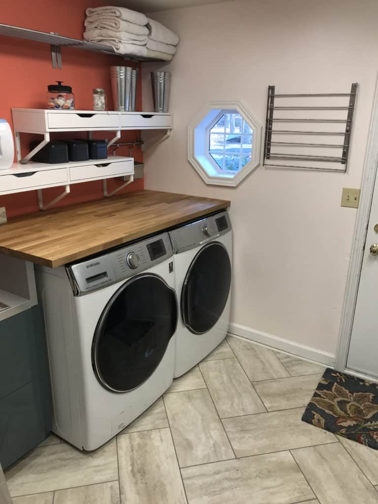 Pic of remodeled laundry room