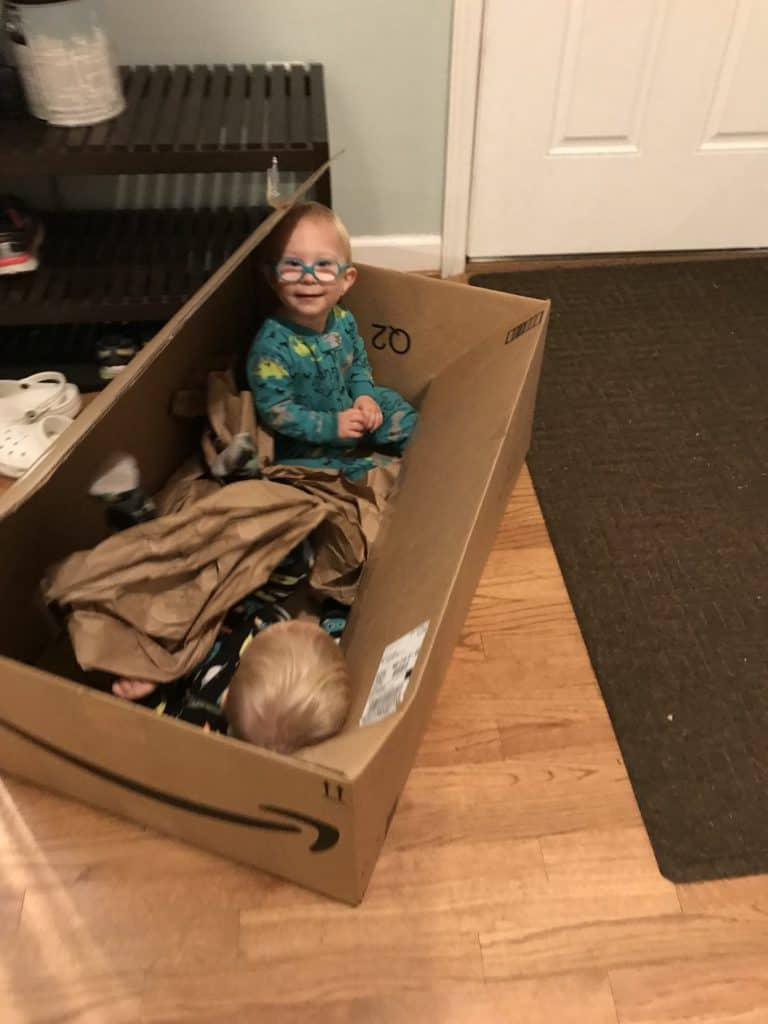 Boys in Boxes