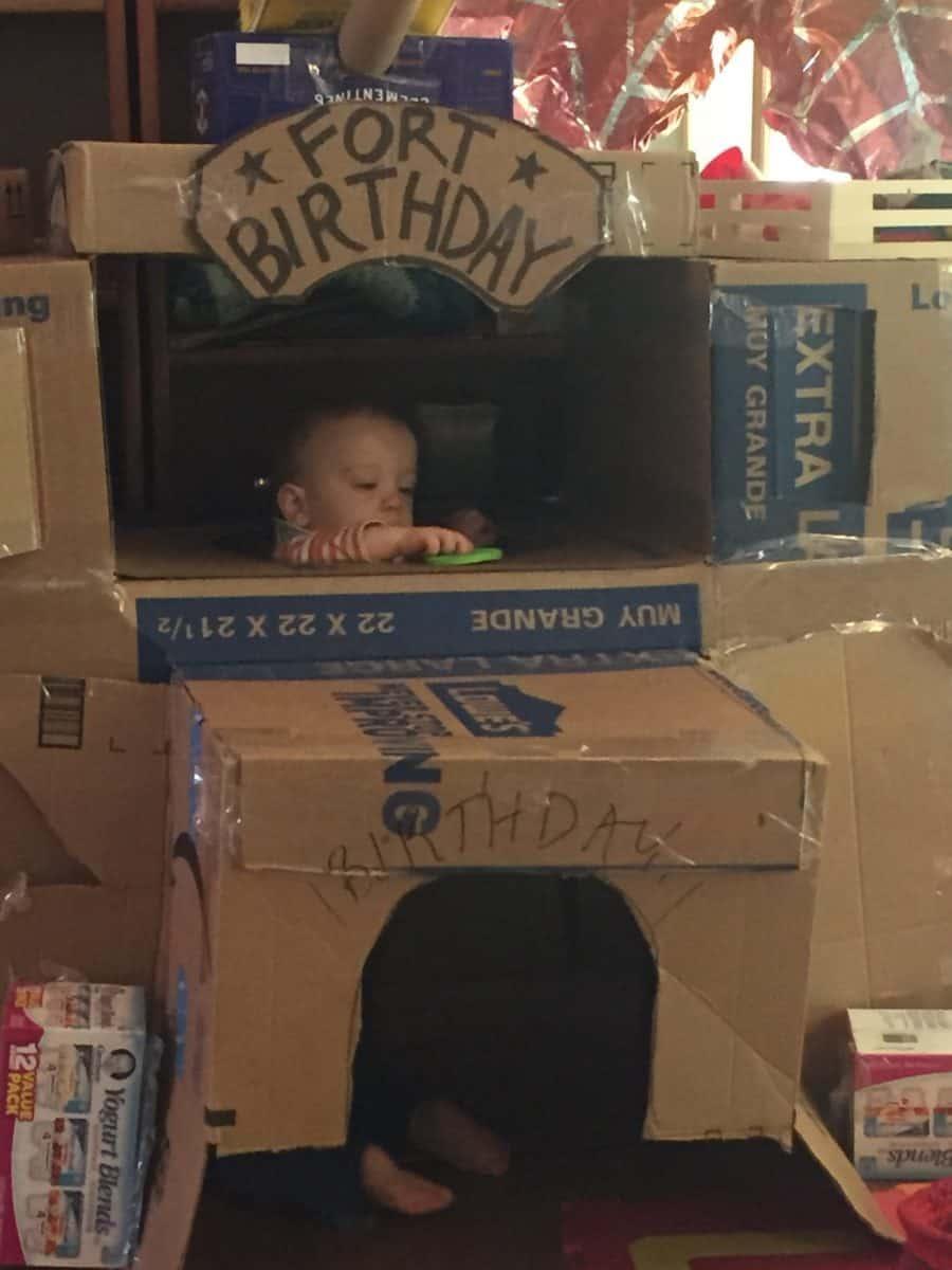 Boy in a box