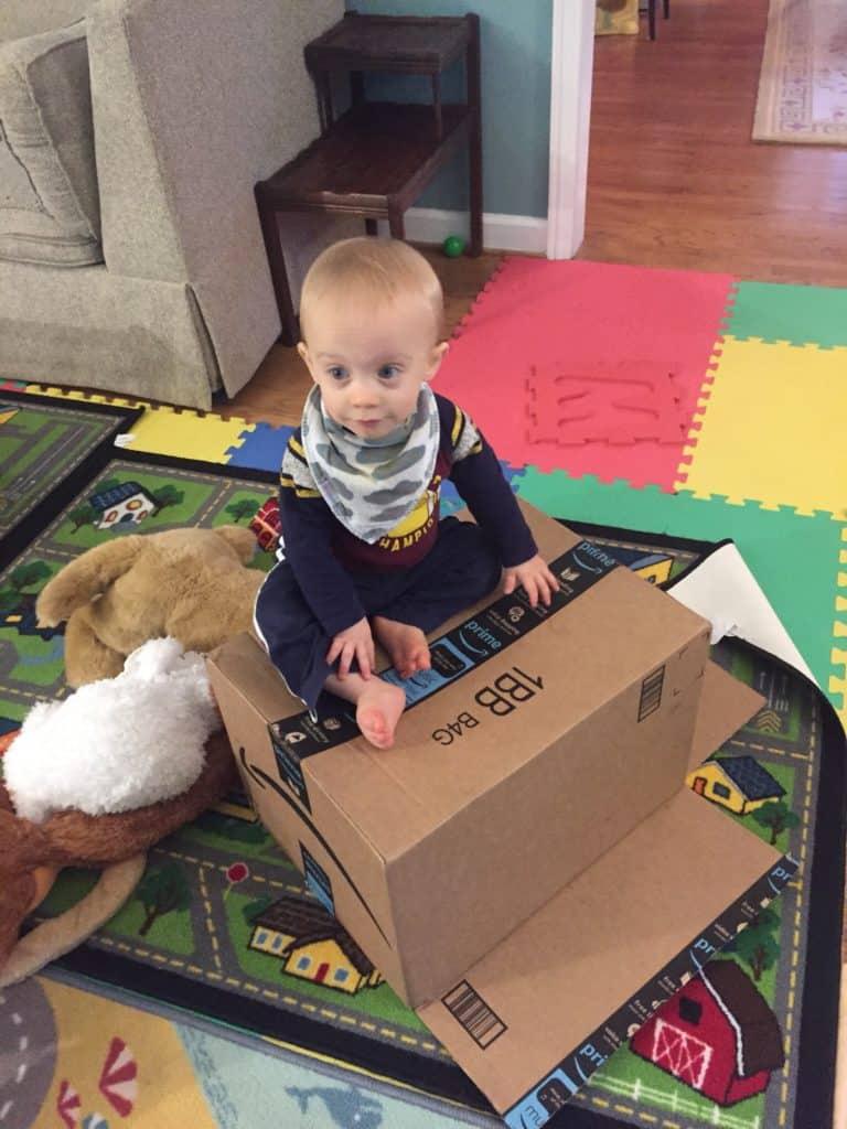 Boy on a Box
