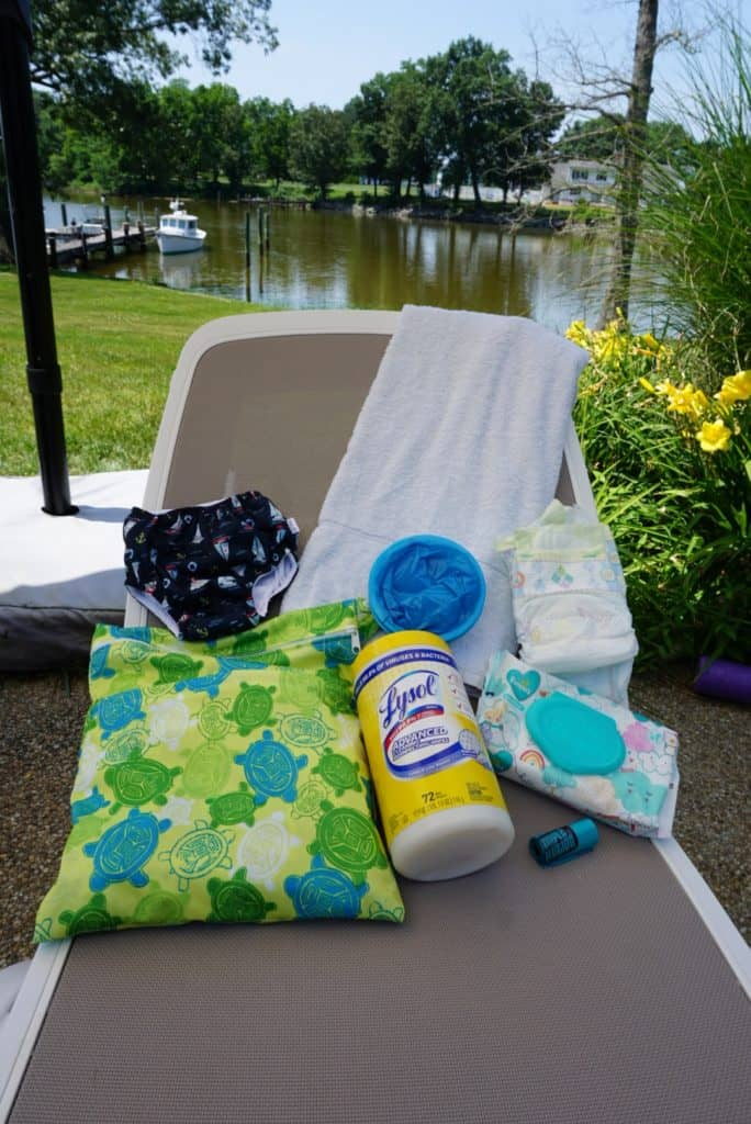 Gear to put in a poop kit by the pool