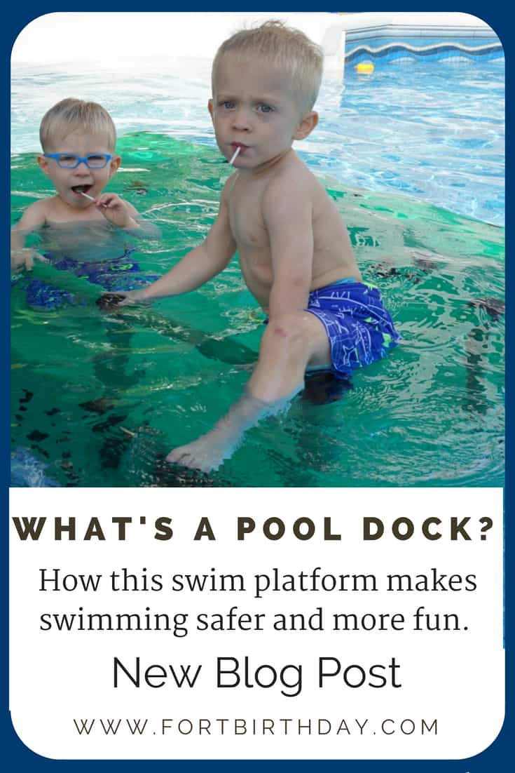 Pin for Whats a pool dock how a swim platform makes swimming safer and more fun