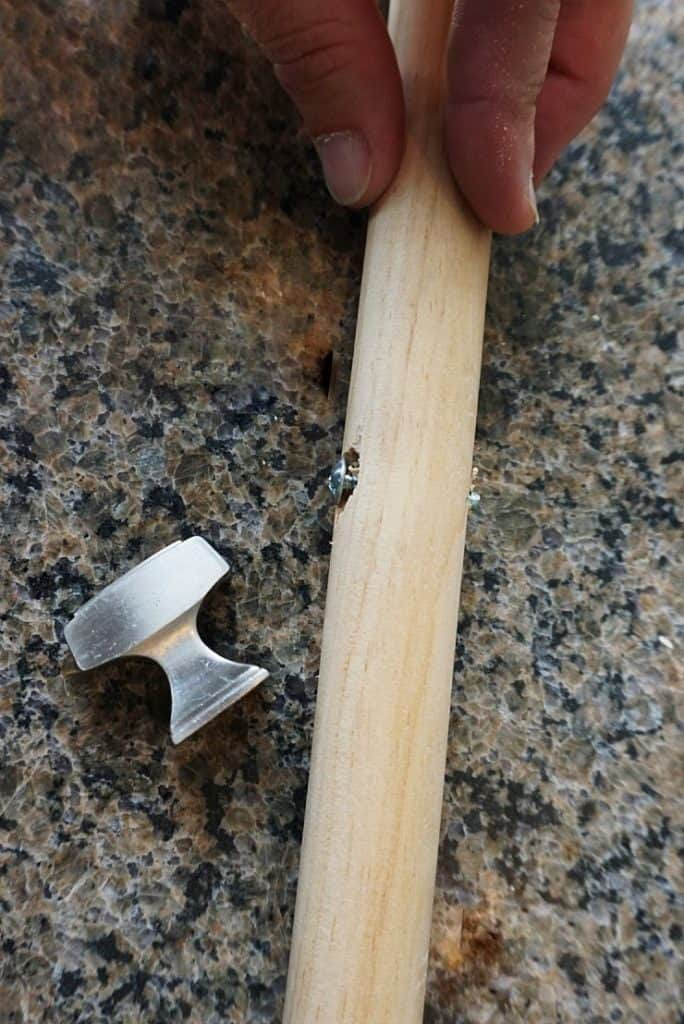 Knobs for a handle.