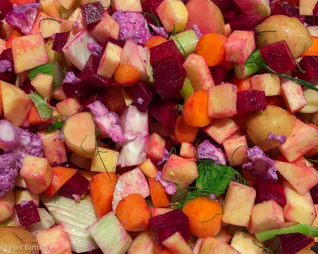 Roasted Root Veggie has can please even a picky adult eater confession