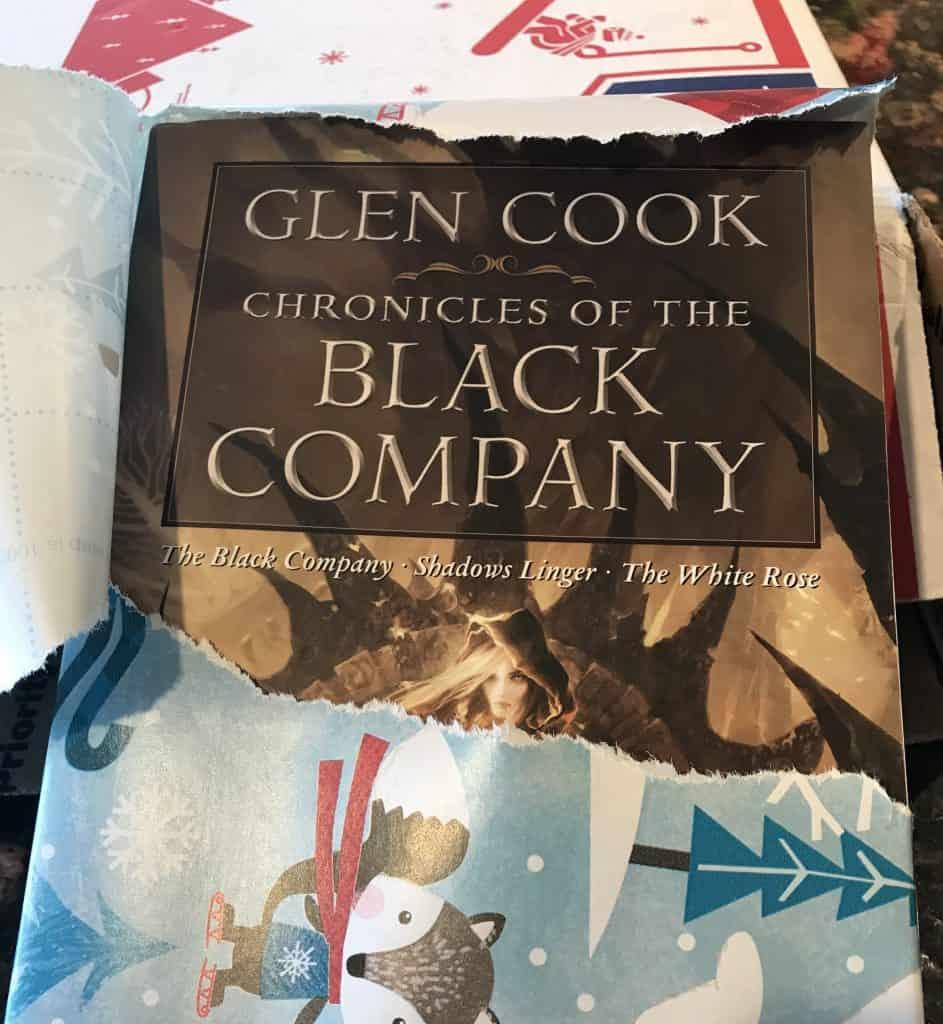Glen Cook Chronicles of the Black Company gift Reddit Secret Santa 2017 book unwrapped