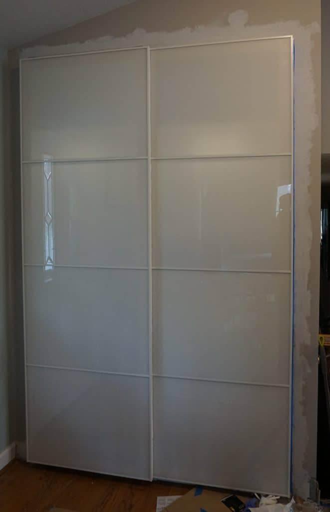 Updating a 1980's Reach-In hall closet Part 2 - Installing A