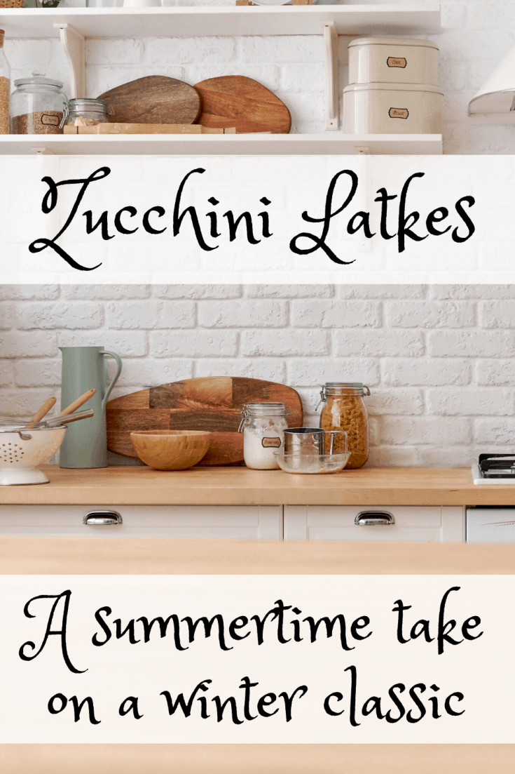 Zucchini Latkes   Summertime twist on a winter classic